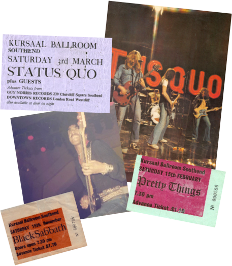 Old photographs of events held at the Kursaal, Southend