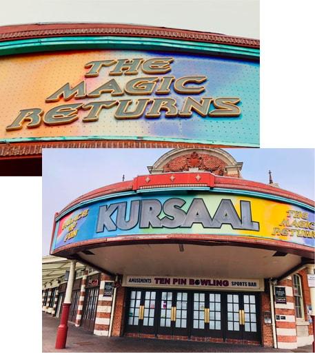 Kursaal Southend Signage